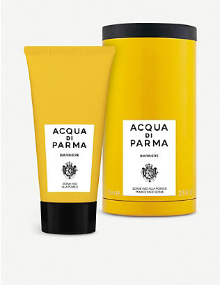 ACQUA DI PARMA: Barbiere face scrub 75ml