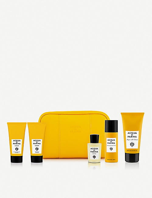 ACQUA DI PARMA Barbiere On-The-Go set of six