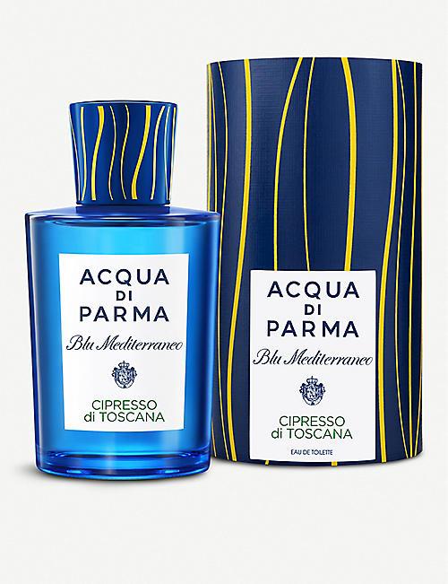 c6d9d2e5cc3c0 ACQUA DI PARMA Blu Mediterraneo Cipresso di Toscana eau de toilette 150ml.  EXCLUSIVE TO SELFRIDGES