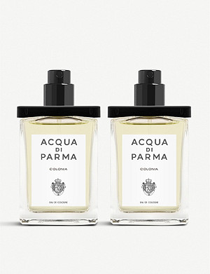 ACQUA DI PARMA Colonia Eau de Cologne travel spray refills 2x 30ml