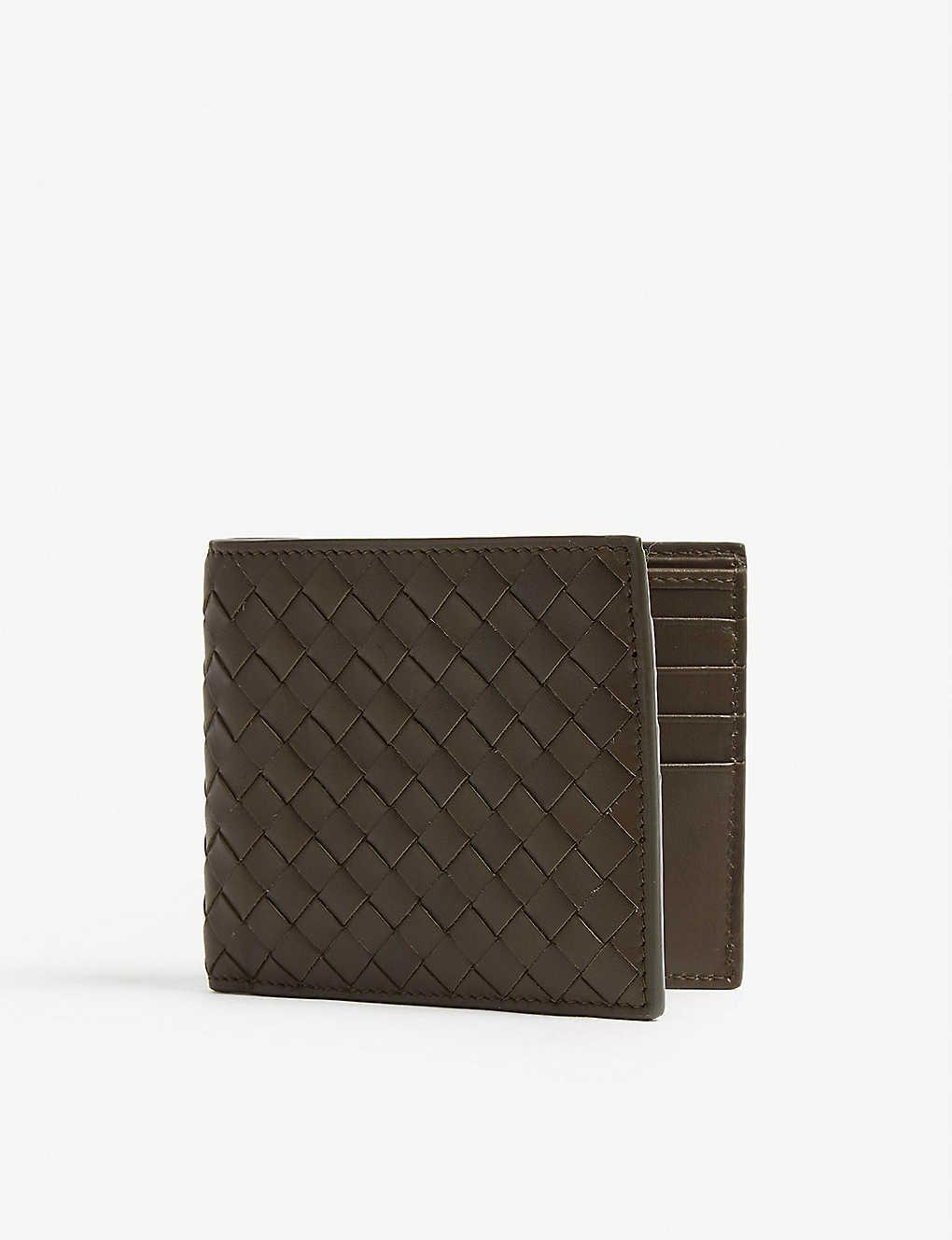 ab405ad82509a BOTTEGA VENETA - Intrecciato woven leather billfold wallet ...