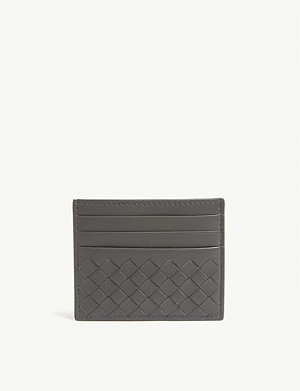 BOTTEGA VENETA Leather cardholder