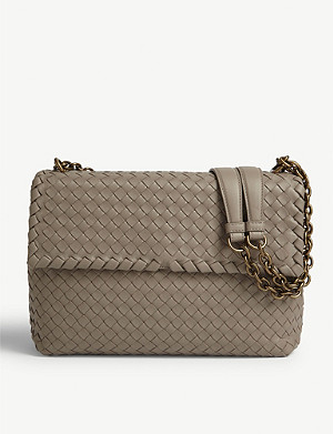 BOTTEGA VENETA Olimpia leather shoulder bag