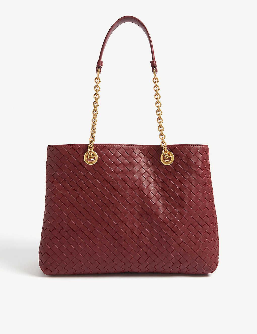 7c79d76ec BOTTEGA VENETA - Woven leather tote bag | Selfridges.com