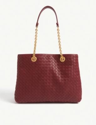 c62b454d00fe BOTTEGA VENETA - Woven leather tote bag
