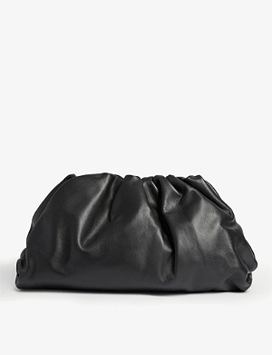 BOTTEGA VENETA The Pouch leather clutch bag