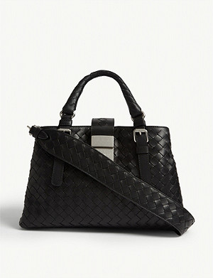 BOTTEGA VENETA Mini Roma leather tote