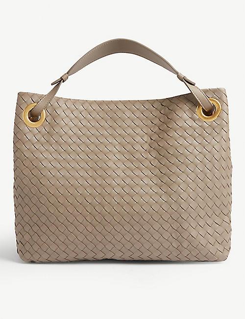561f5f89f247 BOTTEGA VENETA Woven leather tote bag