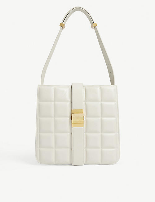 BOTTEGA VENETA Mary quilted leather shoulder bag