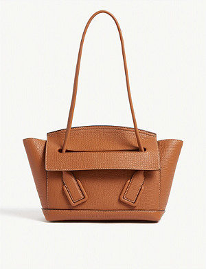 BOTTEGA VENETA Arco Trapeze leather shoulder bag