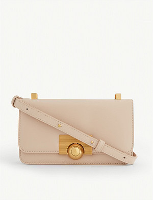 BOTTEGA VENETA Sphere clasp leather cross-body bag