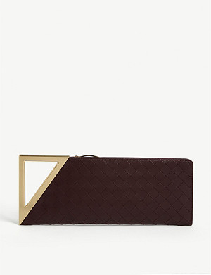 BOTTEGA VENETA BV Rim leather clutch