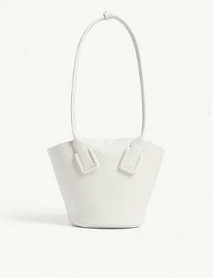 BOTTEGA VENETA Small leather tote bag
