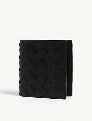 BOTTEGA VENETA Intreccio small leather bifold wallet