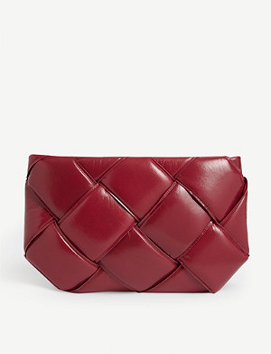 BOTTEGA VENETA Padded leather clutch bag