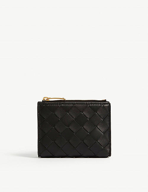 BOTTEGA VENETA: Intrecciato leather card case