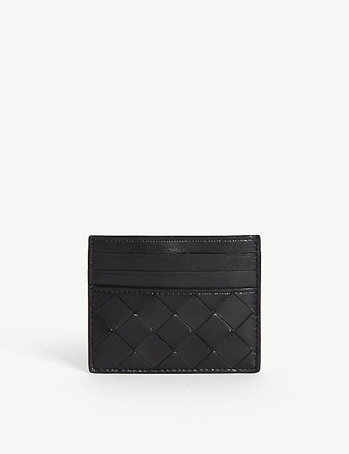 BOTTEGA VENETA: Leather card holder