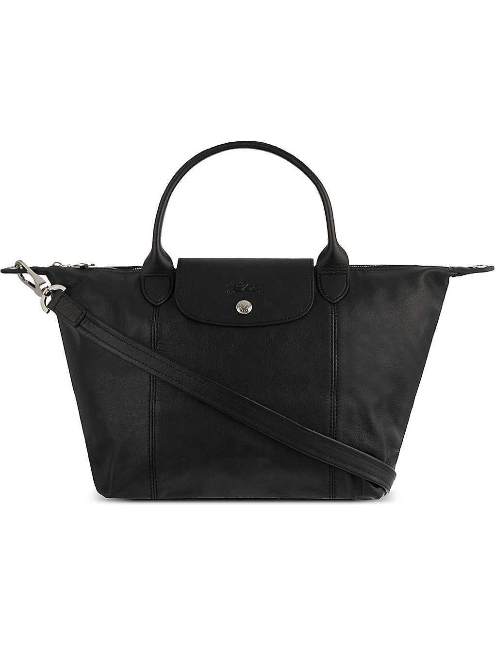 9f0679cb444 LONGCHAMP - Le Pliage Cuir small handbag | Selfridges.com
