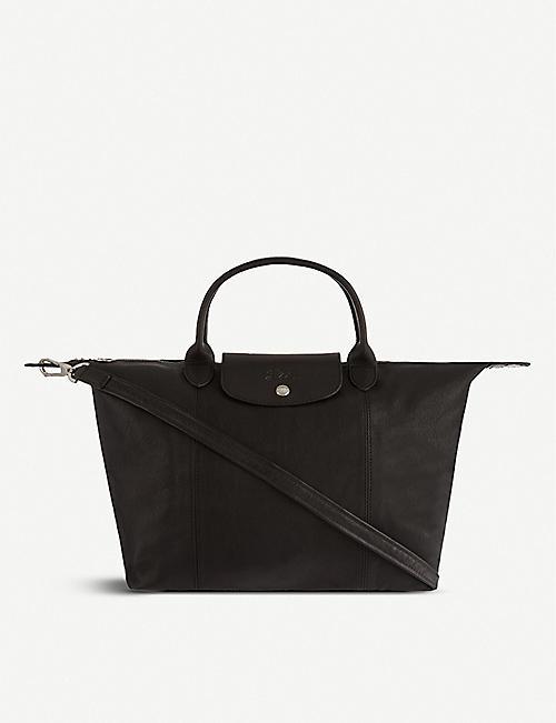 LONGCHAMP Le Pliage Cuir medium handbag 11fe93e77d