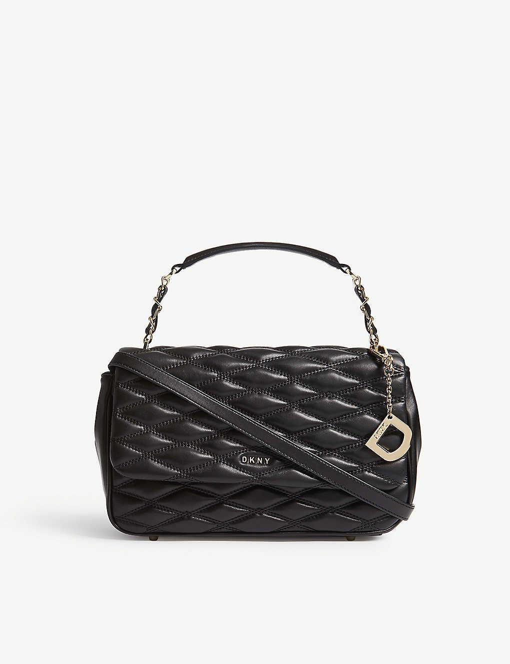6bff7df9a DKNY - Quilted leather shoulder bag | Selfridges.com