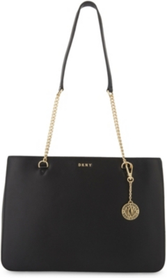 DKNY Bryant Park large leather shoulder bag