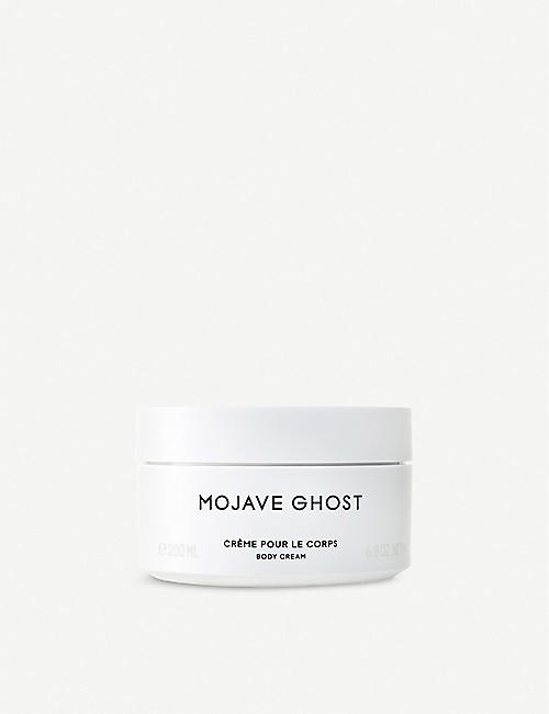 BYREDO Mojave ghost body cream 200ml