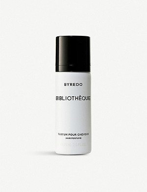 Byredo Black Saffron Hair Perfume 75ml Selfridgescom