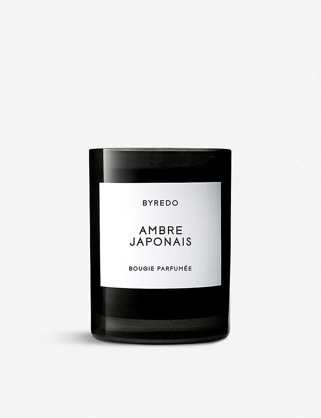 BYREDO: Ambre Japonais candle 240g