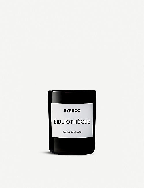 BYREDO: Bibliothèque scented candle 70g