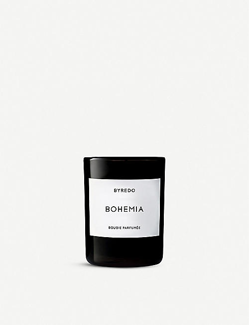BYREDO: Bohemia scented candle 70g