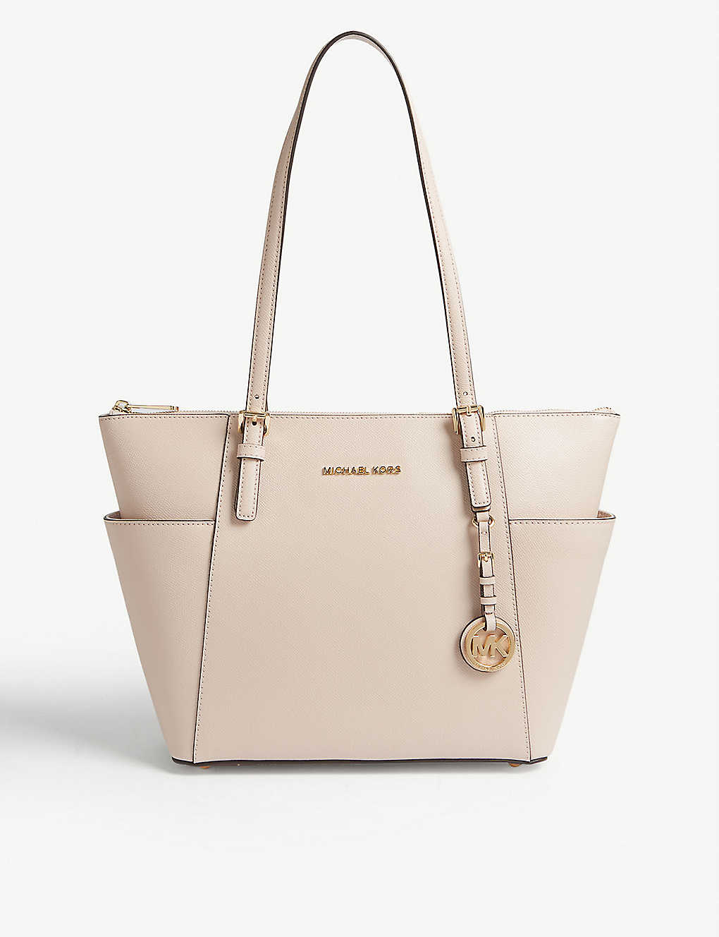MICHAEL MICHAEL KORS: Jet Set leather tote bag
