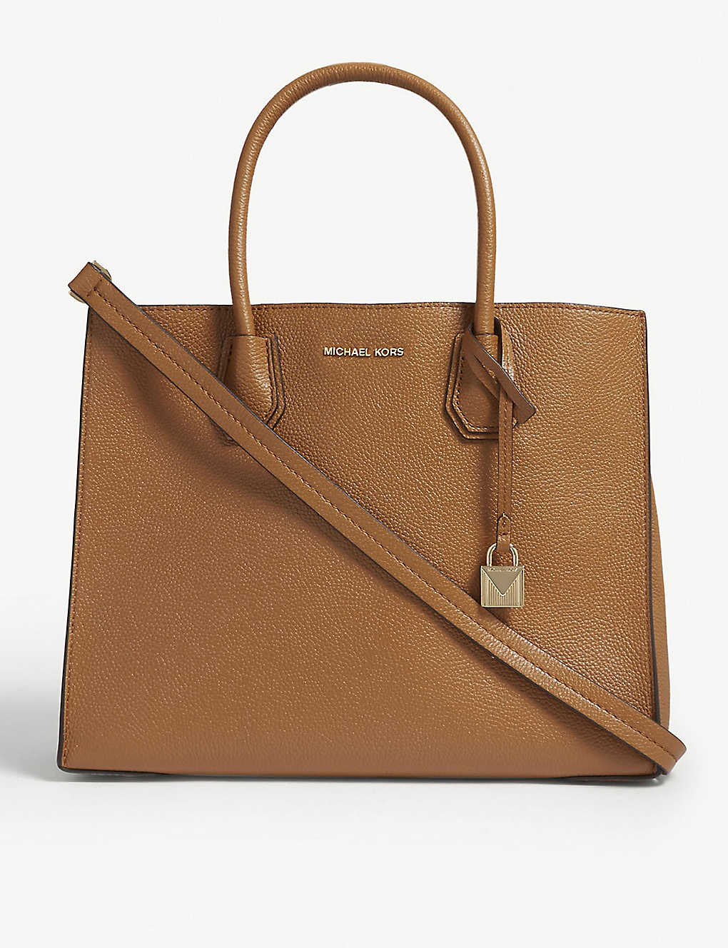 789c4b3ae9347 MICHAEL MICHAEL KORS - Mercer large grained leather tote bag ...
