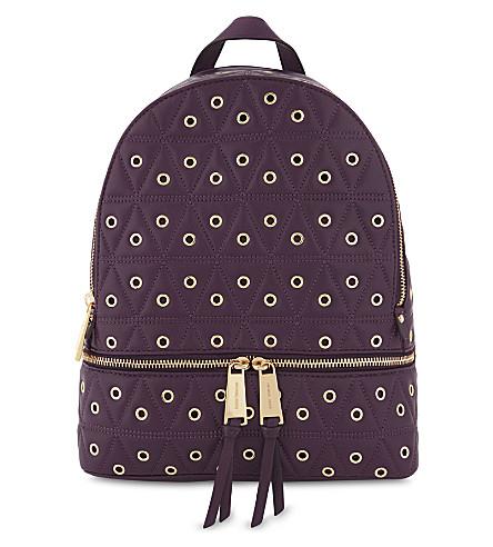 0bdd1ec1dab6 MICHAEL MICHAEL KORS - Rhea medium leather backpack | Selfridges.com