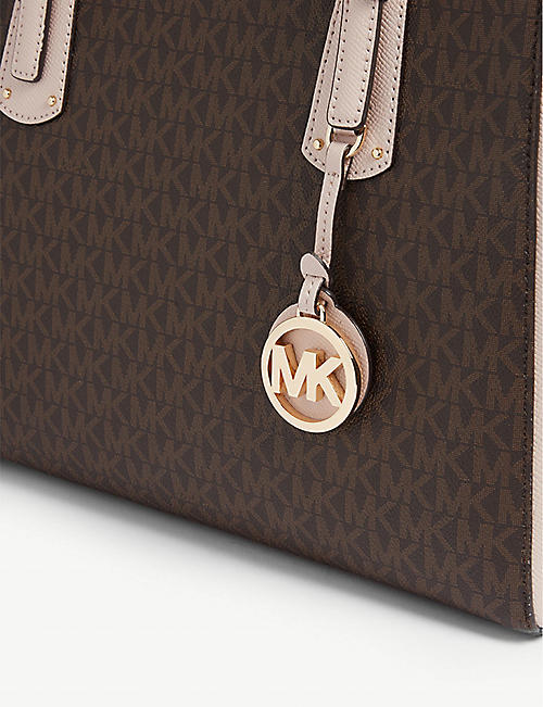 MICHAEL MICHAEL KORS Voyager leather tote