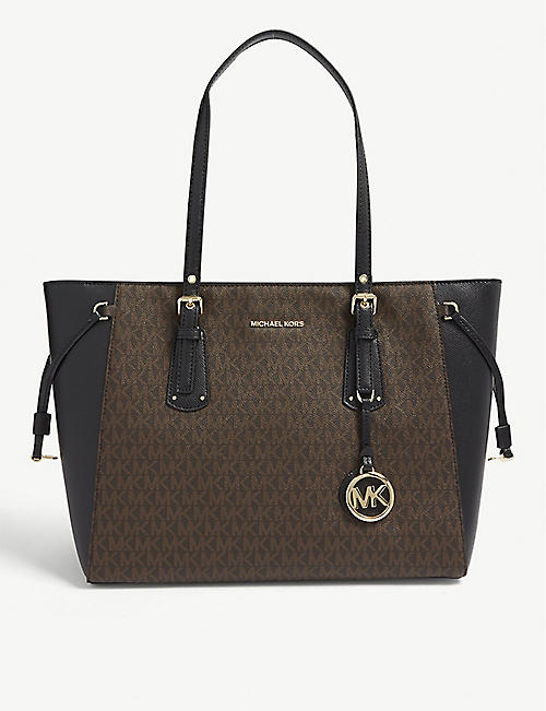 MICHAEL MICHAEL KORS: Voyager leather tote