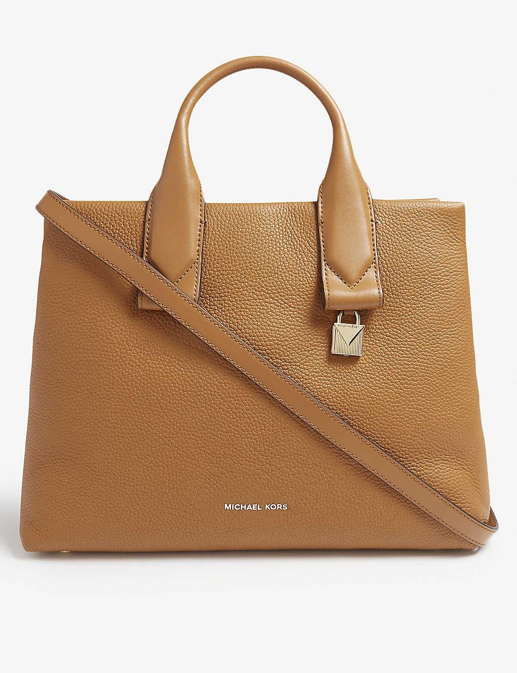 a3d7365605870 MICHAEL MICHAEL KORS - Rollins leather satchel