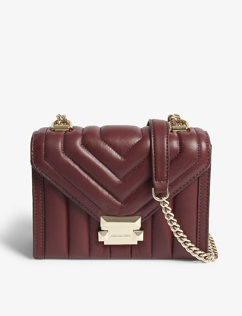 2373e47f1705fa MICHAEL MICHAEL KORS - Whitney small leather shoulder bag ...