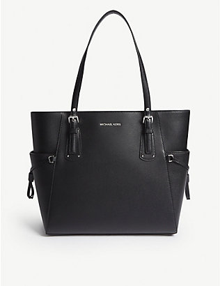 MICHAEL MICHAEL KORS: Leather tote bag