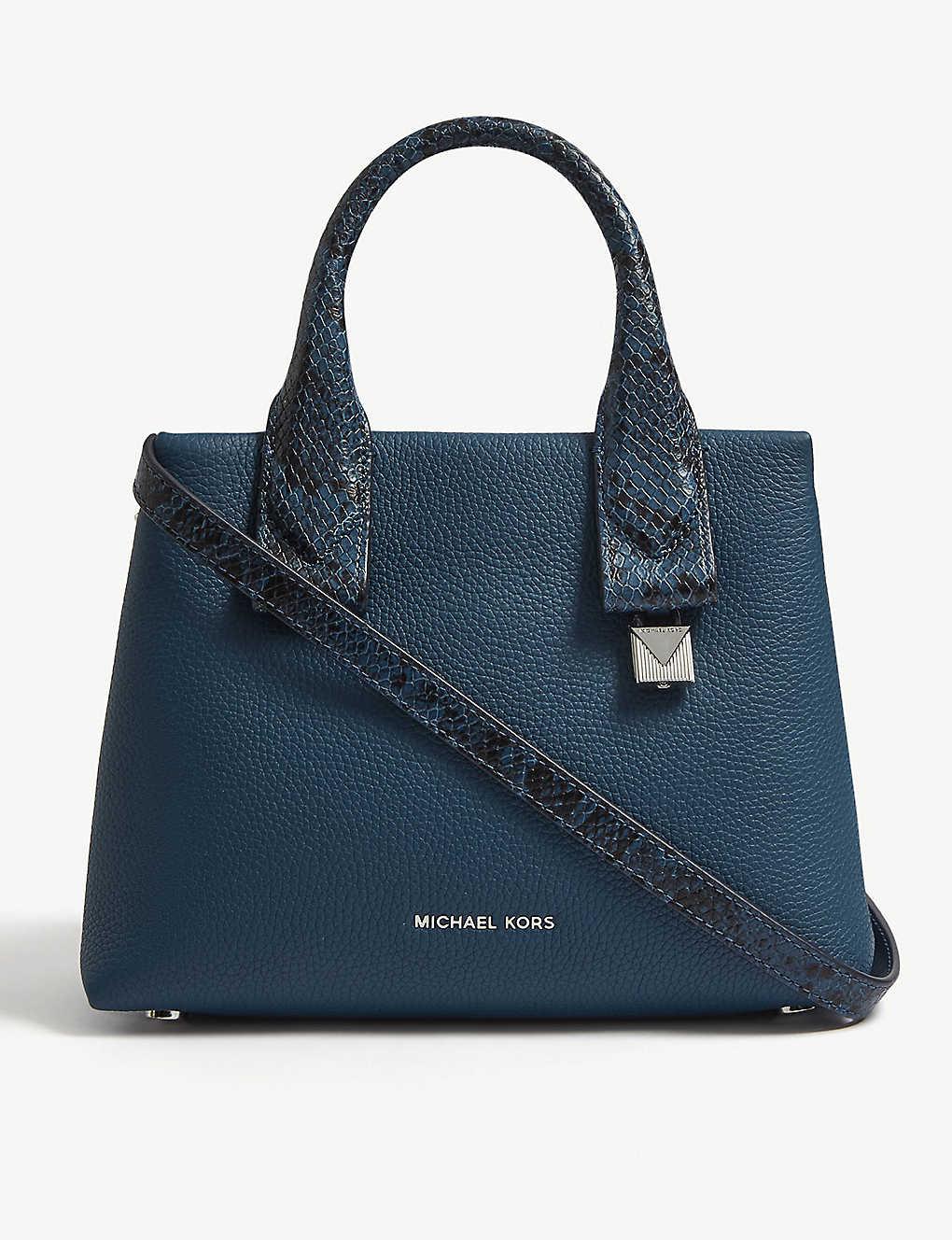 e7fd665352433 MICHAEL MICHAEL KORS - Rollins small leather satchel