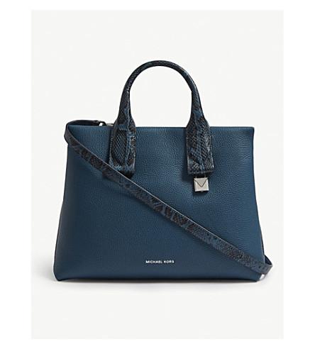 faf0693248ca MICHAEL MICHAEL KORS - Rollins large leather satchel