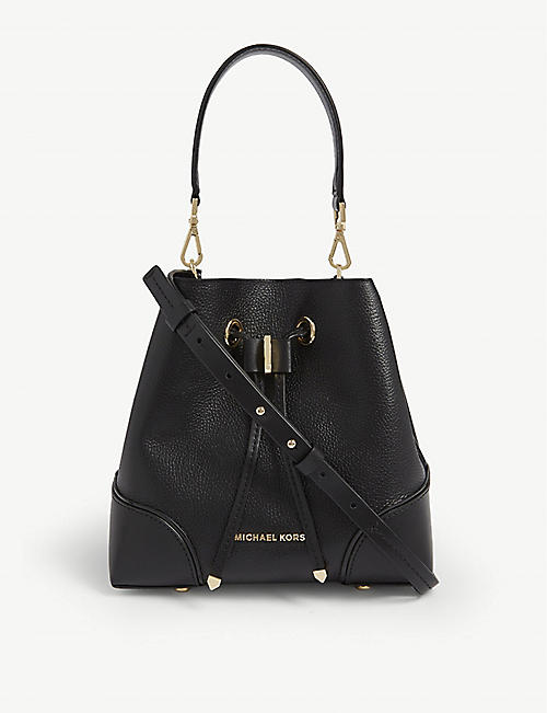 MICHAEL MICHAEL KORS Mercer gallery medium leather bucket bag