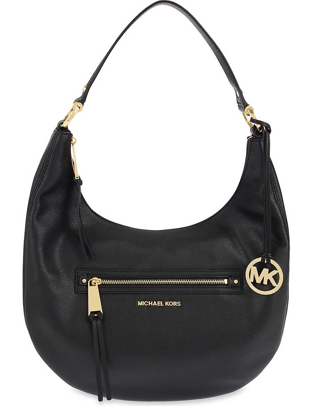01565115c9fd MICHAEL MICHAEL KORS - Rhea large leather shoulder bag | Selfridges.com