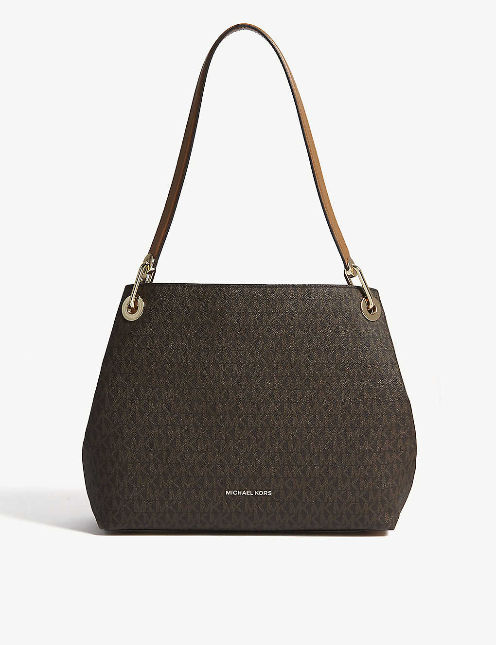 f376a4831fba MICHAEL MICHAEL KORS - Raven logo shoulder bag | Selfridges.com