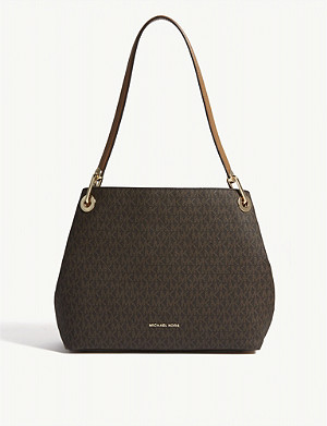 MICHAEL MICHAEL KORS Raven logo shoulder bag