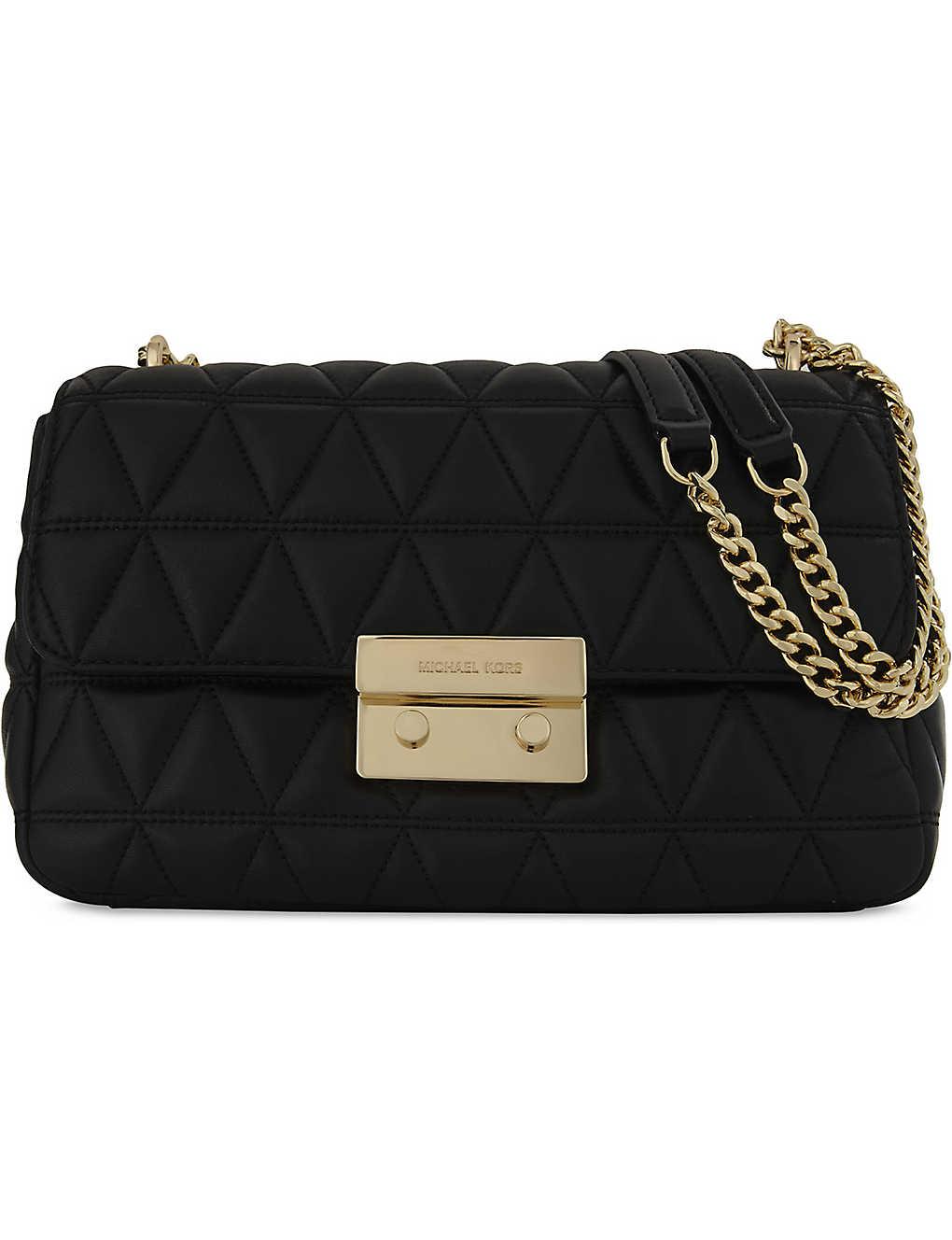 ca5724f9f04c MICHAEL MICHAEL KORS - Sloan leather shoulder bag | Selfridges.com