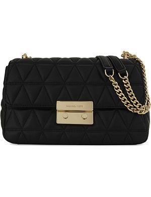 1dff181bfc3b MICHAEL MICHAEL KORS - Quinn medium saffiano leather satchel ...