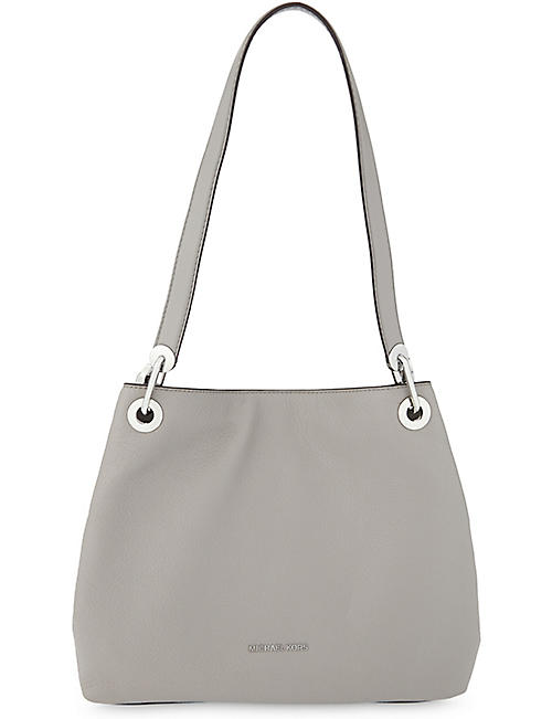 MICHAEL MICHAEL KORS: Raven large leather shoulder bag
