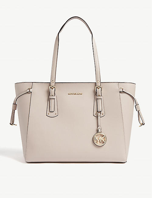 43525654b7eaa1 ... where can i buy michael michael kors voyager leather tote bag 0529a  05ebe