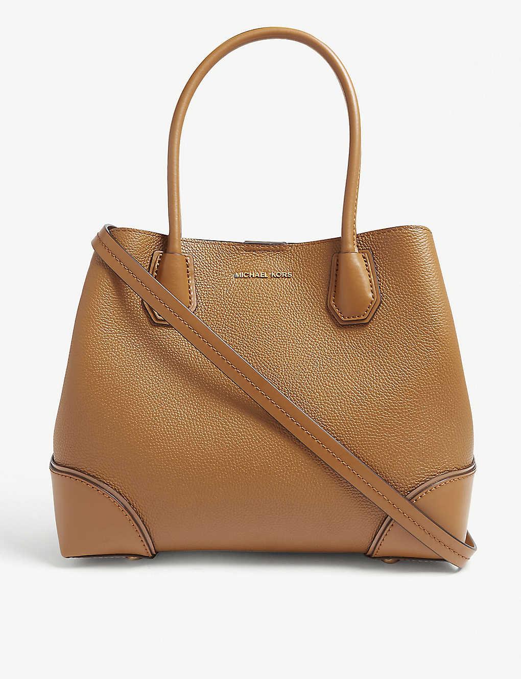 62e36476d67cd4 MICHAEL MICHAEL KORS - Mercer Gallery pebbled leather satchel ...