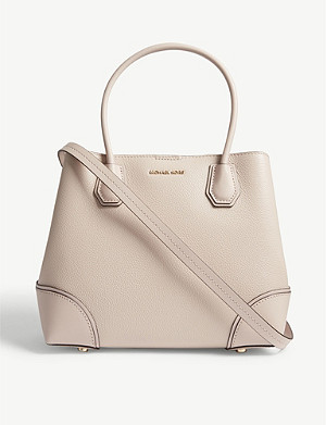 MICHAEL MICHAEL KORS Mercer Gallery pebbled leather satchel